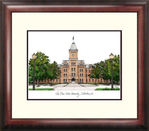(Ohio State University Alumnus Framed Lithograph)