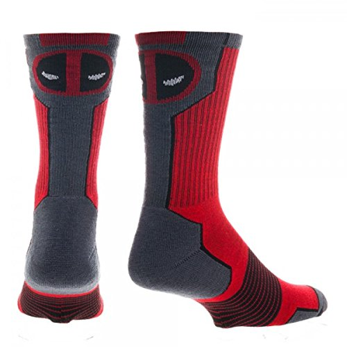 Marvel Deadpool Mens' Crew Socks