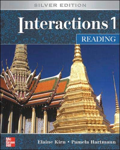 Interactions 1: Reading Student Book, Silver Edition