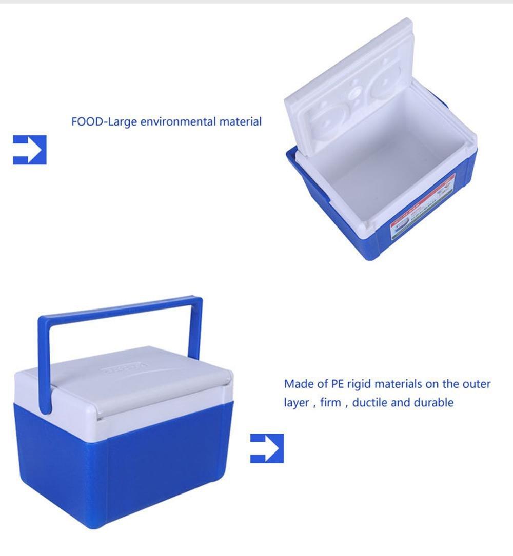5L isolierte Kaltbox für Camping, Blau