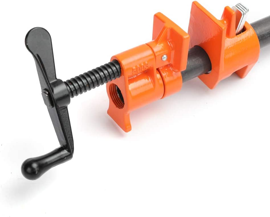Fixture for 3//4-Inch Black Pipe Fivе Расk PONY 50 Pipe Clamp