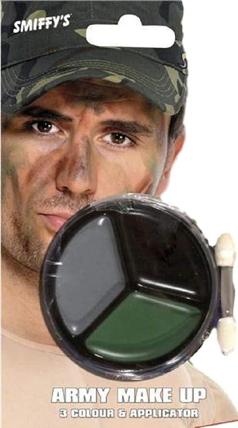 Pour Hommes Femmes Camouflage Armée Guerre Militaire Maquillage