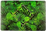 Lugar Americano De Plástico Natural Leaf 43,5X28,5cm
