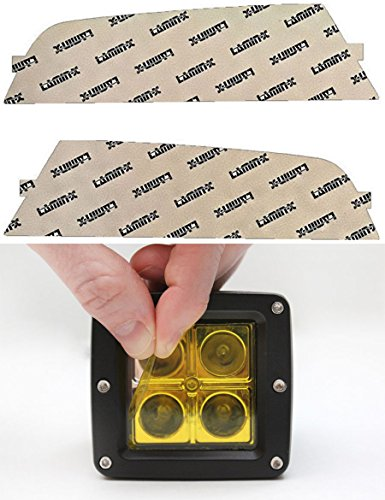 Lamin-x F149Y Yellow Fog Light Film Covers