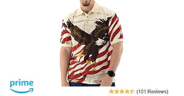 95e0c1d21 Amazon.com  American Summer Flag Patriotic Eagle Shirt  Clothing