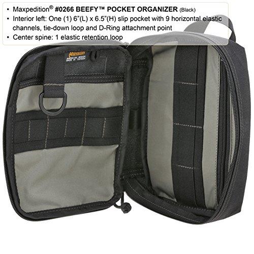 Organizador Organizador Negro Bolso Beefy Maxpedition Beefy Negro Maxpedition Bolso OqTx1Fw
