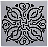 Crafters Workshop TCW731 Template 12''X12''-Celtic Knot