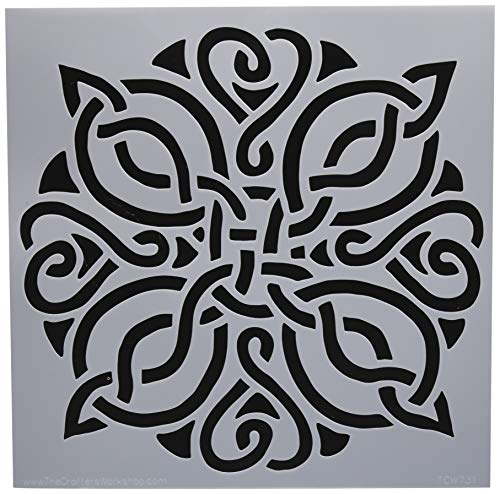 Crafters Workshop TCW731 Template 12''X12''-Celtic Knot by CRAFTERS WORKSHOP