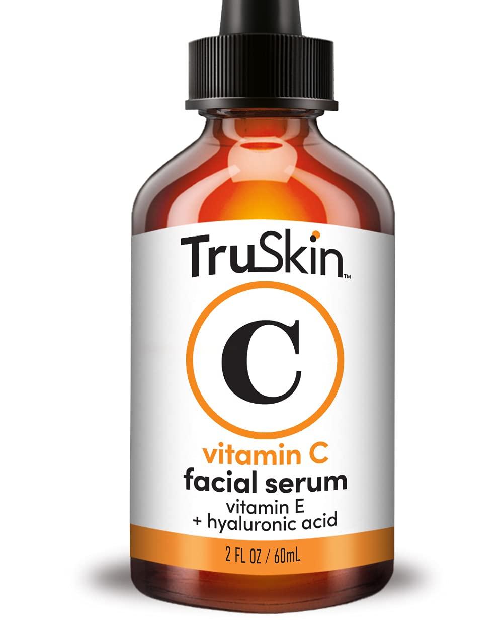 TruSkin Vitamin C Serum for Face [BIG 2-OZ Bottle] Topical Facial Serum...