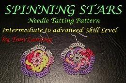 Spinning Stars Needle Tatting Pattern