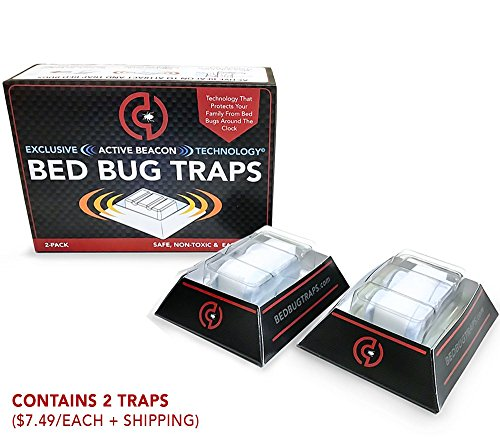 Bed Bug Traps - 2-Trap Pack
