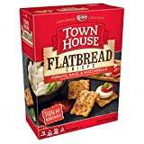 Keebler, Town House Flatbread Crisps, Crackers, Tomato, Basil and Mozzarella Cheese, 9.5 oz