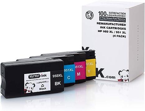 8PK HP 950 /& 951 Genuine Setup Ink Cartridge Set //HP 8100 8600 8610 8620 8630