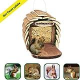Gardigo Bar pour l'Écureuil doublage de l'Écureuil graines pour les écureuil mangeoire en bois