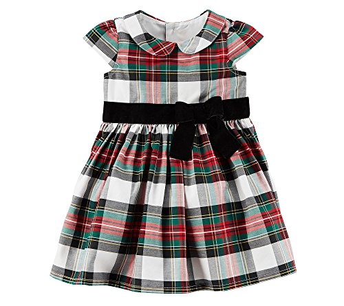 Carter's Baby Girls' Plaid Holiday Dress
