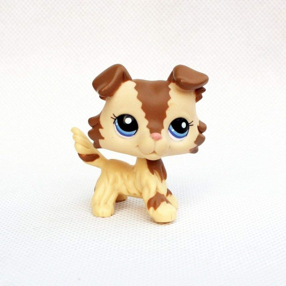 FQD&BNM LPS CAT pet Shop Toys Collie Dogs #1262#1542#1194 Girls Birthday Gifts Animals Figures,2210