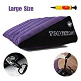 LOLO Large Inflatable Air Wedge Ramp Soft Bed Pillow (24'' x 15'' x 7'') with 3201