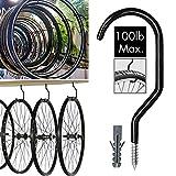 WaterLuu Heavy Duty Storage Hooks Bike Hooks Garage