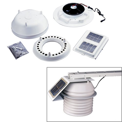Davis Instruments 7747 Day-time Fan Aspirated Radiation Shield Kit ()