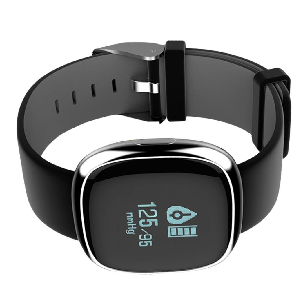 Amazon.com : LtrottedJ Smart Watch, Smart Watch Sports, Fitness Activity Heart Rate, Tracker Blood Pressure Watch : Sports & Outdoors