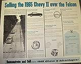 1965 Chevrolet Chevy II Nova vs Ford Falcon Factory