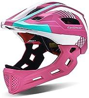EASTINEAR Kids Bike Helmet Full Face Protection Child Toddler Bicycle Helmet for BMX Age 3-8 Multi-Sports Safe