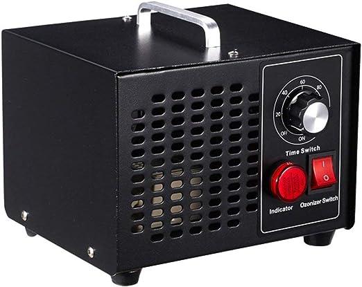 L.HPT Máquina de ozono Desinfección doméstica de ozono purificador ...