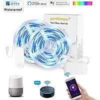 SUPERNIGHT 32.8Ft RGBW Smart LED Strip Lights Waterproof...