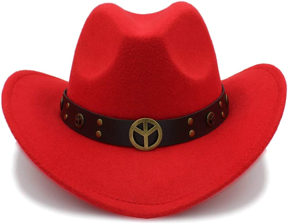 HYF Men's Cowboy Hat Suede...