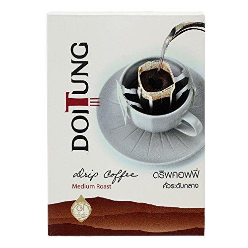 Doi Tung, Sprinkle Coffee, Medium Roast, net weight 60 g (Pack of 1 piece) / Beststore by KK