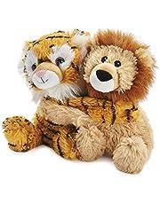Warmies® 9'' Warm Hugs Volledig Verwarmbaar Zacht Speelgoed Geparfumeerd met Franse Lavendel - Liger