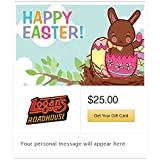 Logan's Roadhouse Happy Easter Gift Cards - E-mail Delivery