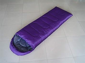 baijuxing Saco de Dormir con Sombrero para Acampar al Aire Libre Solo Impermeable 1KG Saco de Dormir 75 + 180 + 30cm: Amazon.es: Hogar