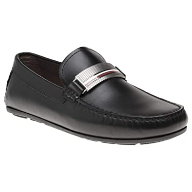 Tommy Hilfiger Hardware Leather Hombre Zapatos Negro: Amazon.es: Zapatos y complementos