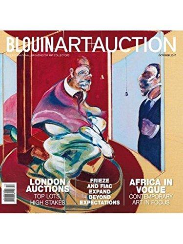 BLOUIN MAGAZINE, ART + AUCTION, OCTOBER, 2017