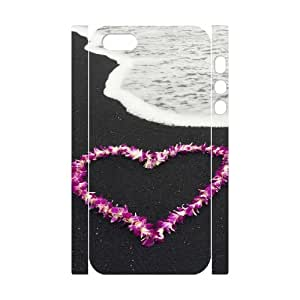 3D IPhone 5,5S Cases Love 66, [White]