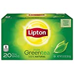 Lipton Green Tea Bags Flavored with Other Natural Flavors Cranberry Pomegranate Can Help Support a Healthy Heart 1.13 oz… 7 Lipton green tea has a naturally light fresh taste to start your day Make yourself a cup of uplifting goodness with the naturally light and fresh taste of Lipton Green tea. Get the best from your brew in 2 minutes, adding the green tea bag first then water so the leaves can unleash their flavor.