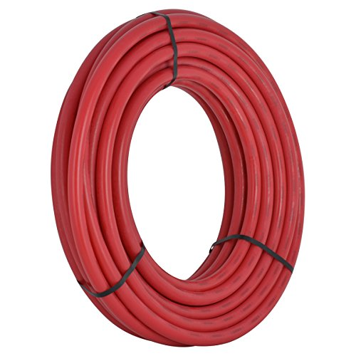 SharkBite PEX Pipe 1/2 Inch, Red, Flexible Water Pipe Tubing, Potable Water, Push-to-Connect Plumbing Fittings, U860R50, 50 Foot Coil by SharkBite