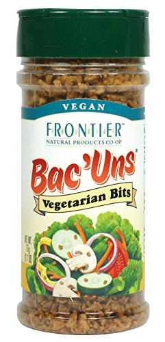 Bacon Bacuns - Frontier Vegetarian Bits Bac'uns, 2.47-Ounce Bottle