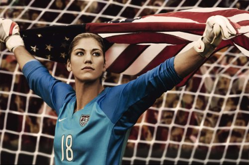 Hope Solo Olympic Hero Women's Soccer Limited Print Photo Poster 24x36 #1