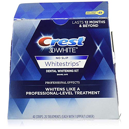 Crest 3D White Luxe Whitestrips Professional Effects - 20 ct, Pack of 6