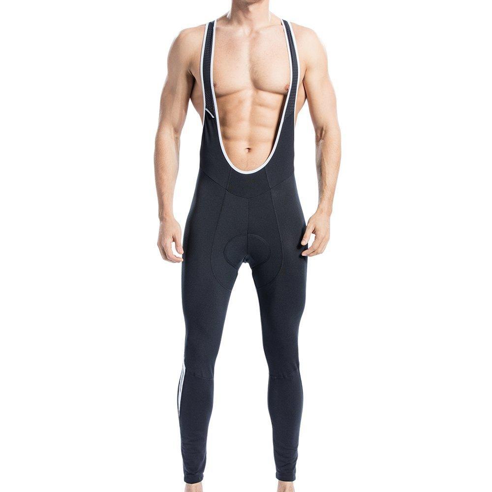 6e876563e4 Santic Cycling Bib Tights Winter Padded Long Pants Compression Bib Pants  for Men product image