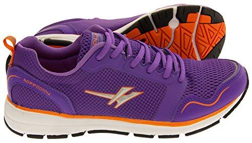 Gola Active Mujer ALA697 Speedplay Zapatillas de Deporte de Ejercicios Ligeros Púrpura