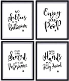 Best Picture Frames  Quotes - Bathroom Quotes and Sayings Art Prints | Set Review