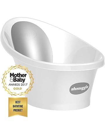 Bañera para bebé con respaldo acolchado ...