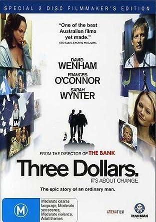 three dollars pal region 4 dvd amazon co uk david wenham