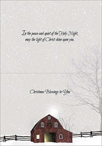 A Light in the Stable - LPG Billy Jacobs Religious Box of 16 Christmas Cards Photo #2