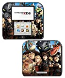 How to Train your Dragon 2 3 Toothless Hiccup Movie Video Game Vinyl Decal Skin Sticker Cover for Nintendo 2DS System Console