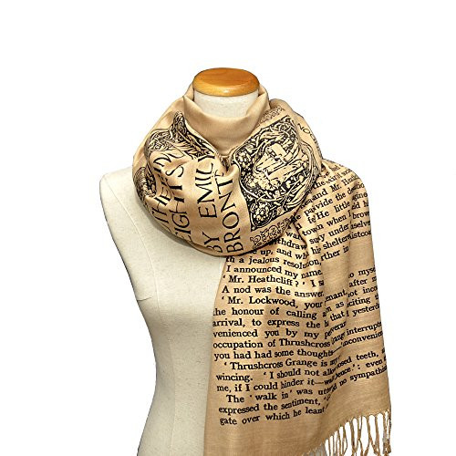 Wuthering Heights by Emily Bront Scarf Shawl