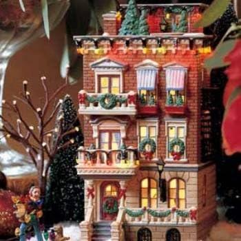 Amazon.com: Departamento 56 Navidad en la ciudad Parkside ...